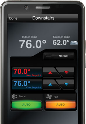 thermostats phone